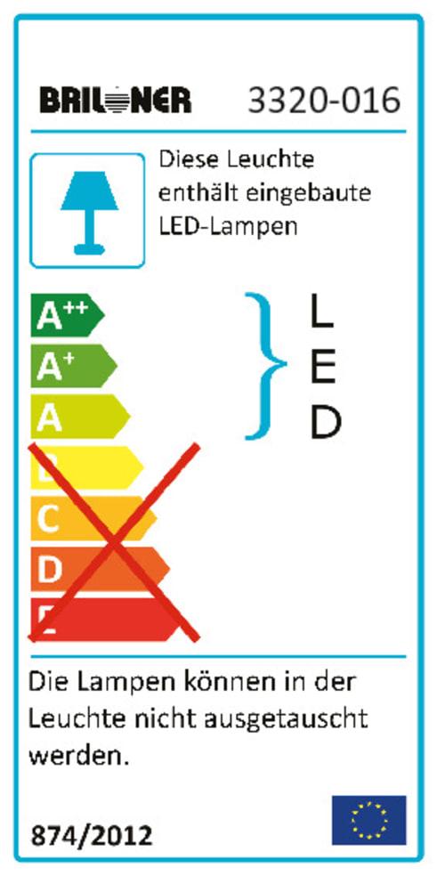 Energieeffizienz: LED-Deckenleuchte Starlight in weiß, 29 cm