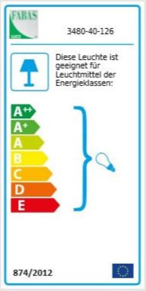Energieeffizienz: Pendelleuchte Sintesi in grau, 1-flammig
