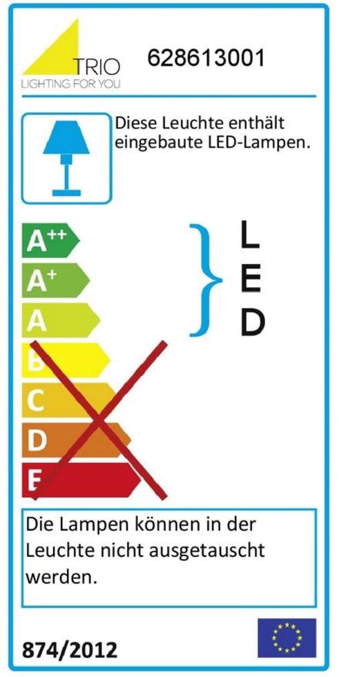 Energieeffizienz: LED-Deckenleuchte Samurai in weiß