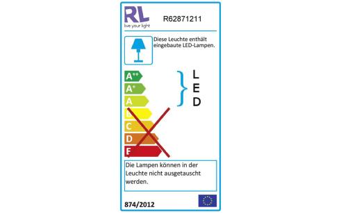 Energieeffizienz: LED-Deckenleuchte Ponts in grau