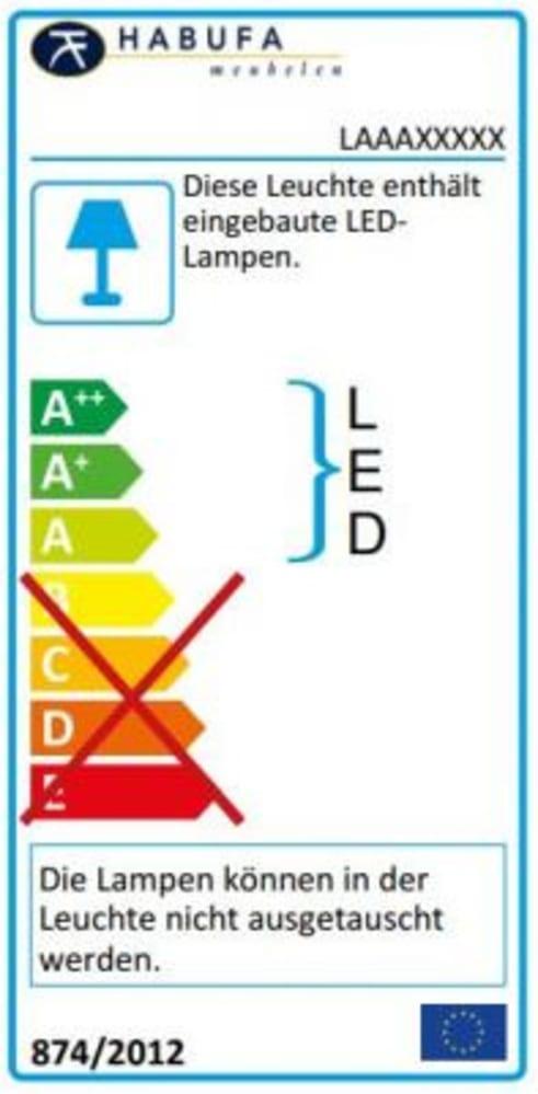 Energieeffizienz: Sideboard Arizona in weiß lackiert