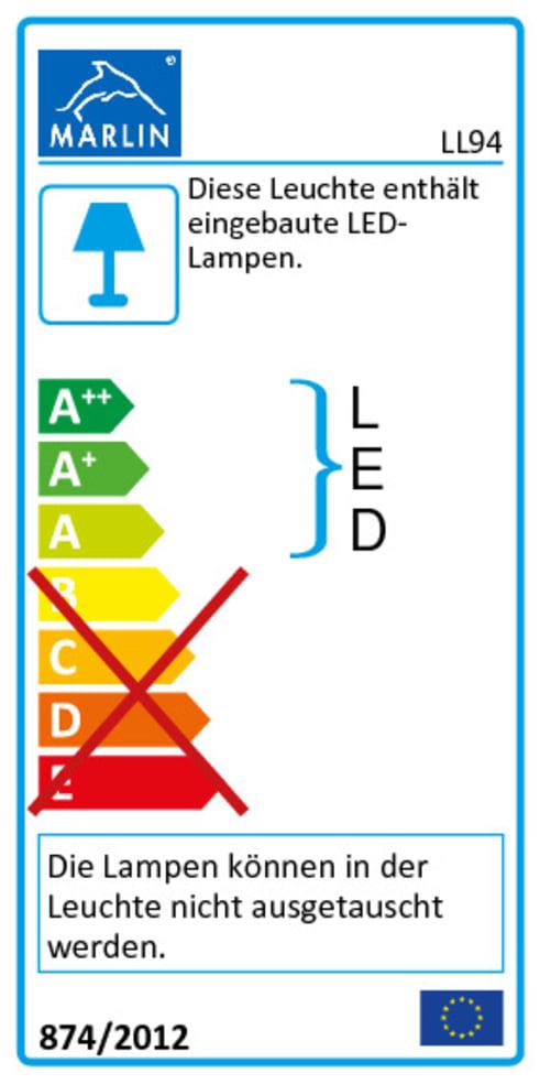 Energieeffizienz: Bad-Einrichtung - Life 3020 in Kastanie-Titan-Optik