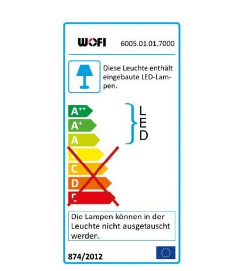 Energieeffizienz: LED-Pendelleuchte Visio in Chrom-Optik