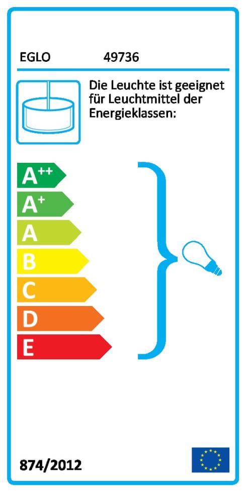 Energieeffizienz: Pendelleuchte Straiton in schwarz