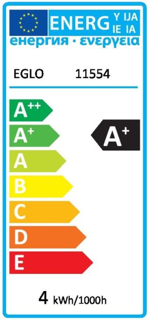 Energieeffizienz: LED-Leuchtmittel Vintage Röhre, 3,5W / E27