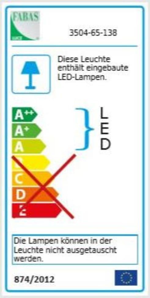 Energieeffizienz: LED-Deckenleuchte Osaka turnable white