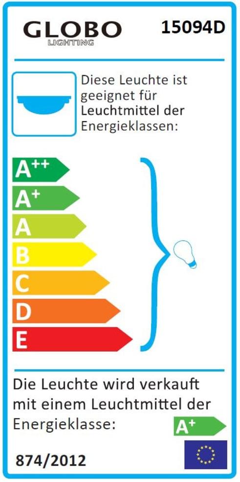 Energieeffizienz: LED-Deckenleuchte Sierra in silberfarbig