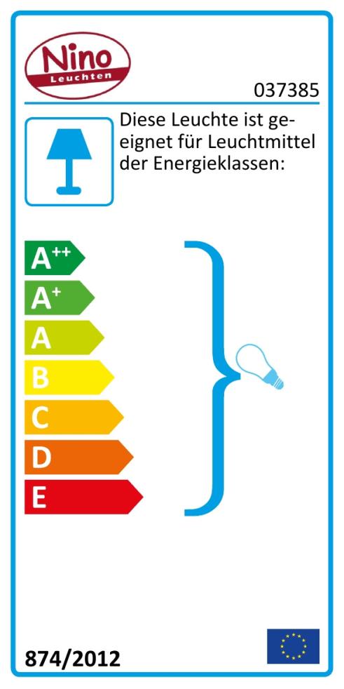 Energieeffizienz: Stehleuchte Ducky in weiß, 150 cm