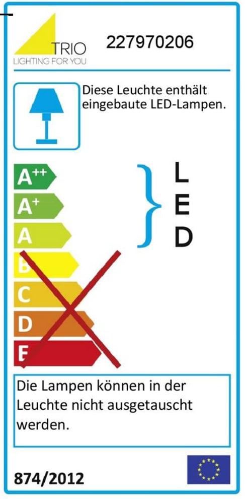 Energieeffizienz: LED-Wandleuchte Osram, 26 cm