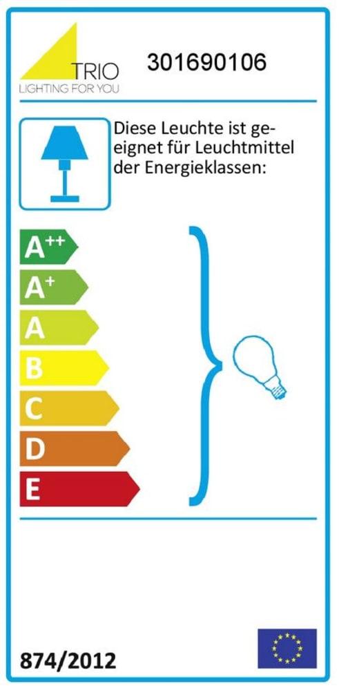 Energieeffizienz: Pendelleuchte Midas in smokey, 45 cm