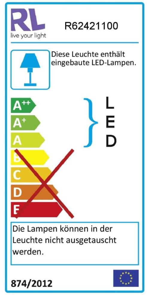 Energieeffizienz: LED-Deckenleuchte Pegasus in weiß