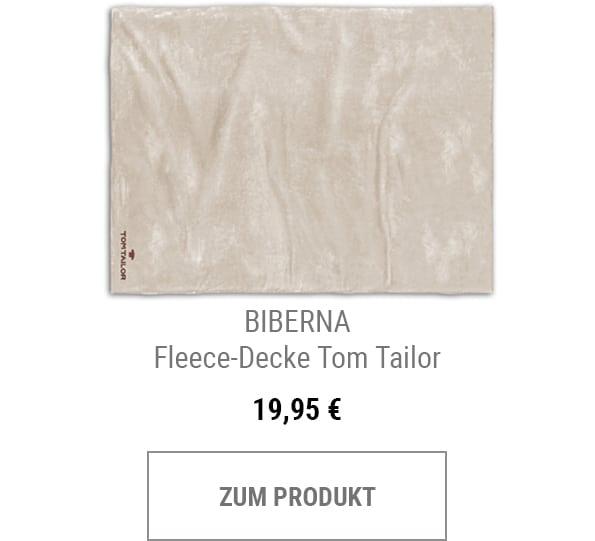 Fleece-Decke Tom Tailor
