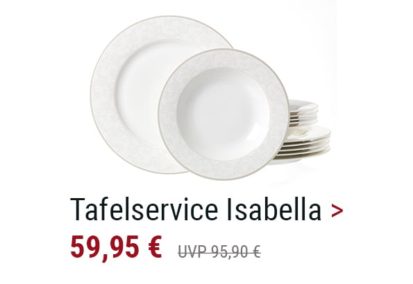 Tafelservice Isabella