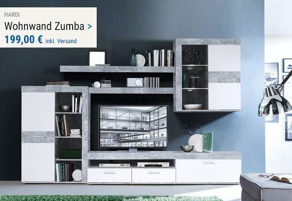 Wohnwand Zumba