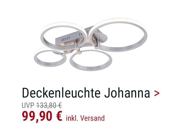 LED-Deckenleuchte Johanna