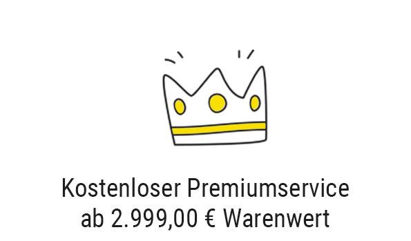 kostenloser Premiumservice