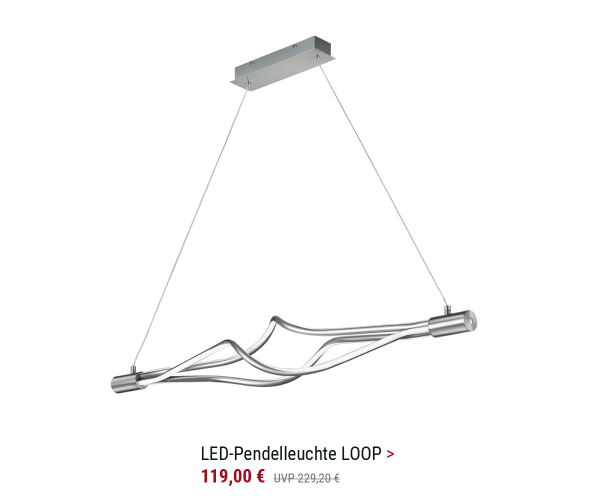 LED Pendelleuchte LOOP