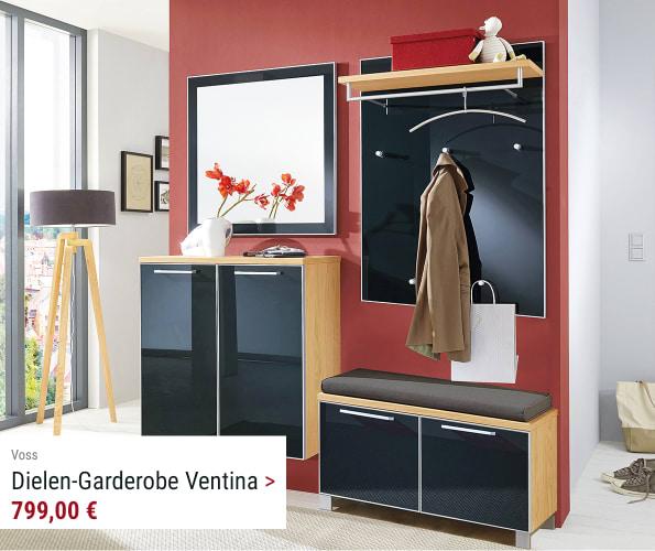 Dielen-Garderobe Ventina