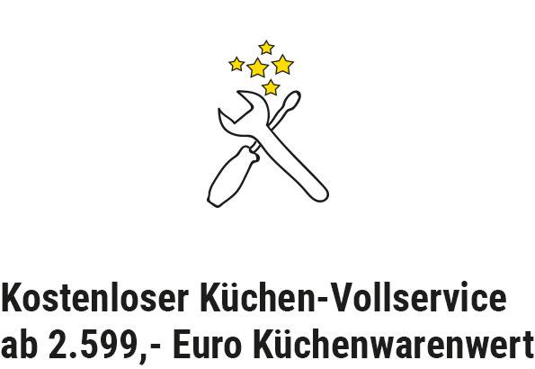 kostenloser Küchenvollservice