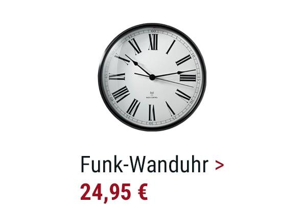 Funk-Wanduhr