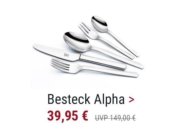 Besteck Alpha