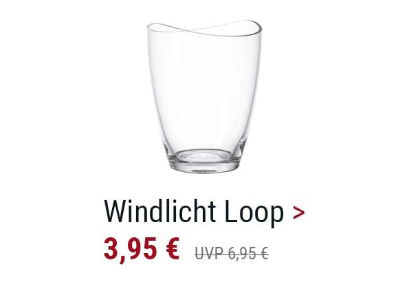 Windlicht Loop