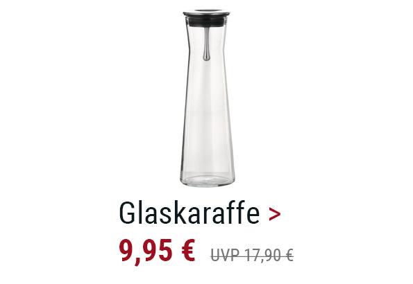 Glaskaraffe
