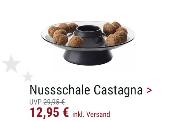 Nuss-/Gebäckschale Castagna
