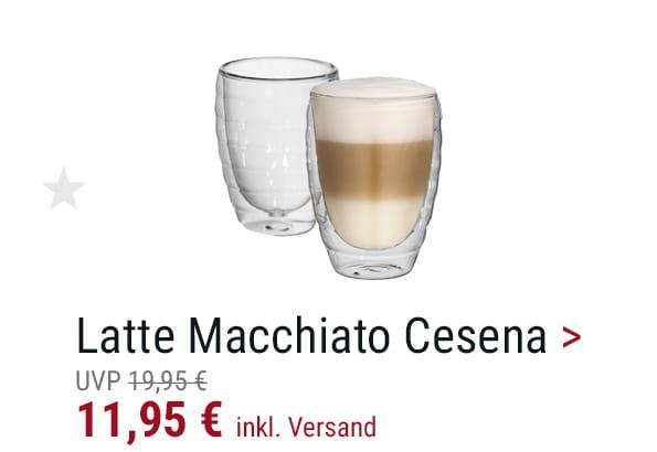 Latte Macciato-Glas