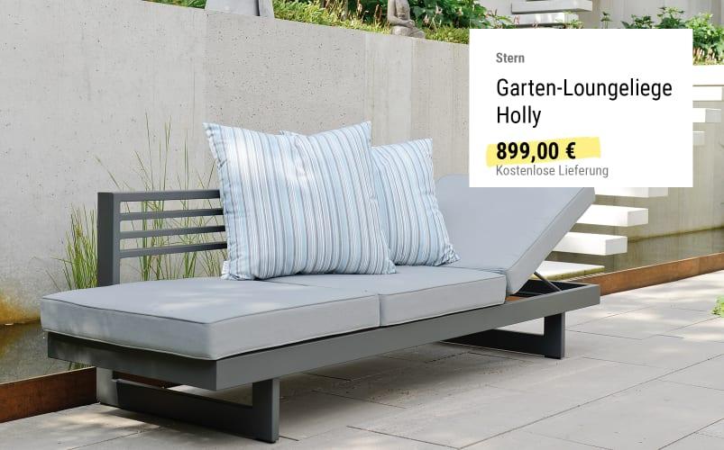 Garten-Loungeliege Holly