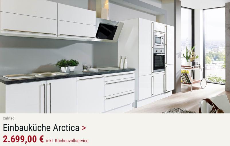 Einbauküche Arctica
