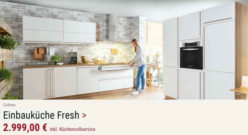 Einbauküche 2312 Fresh