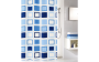 Duschvorhang Clipper in azur, 180 x 200 cm blau