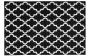Designteppich my Black & White 391 in weiß, 80 x 150 cm schwarz