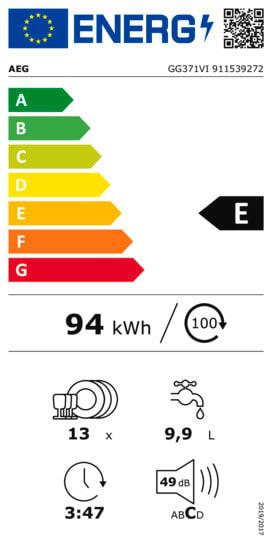 Einbauküche Flash, schiefergrau Hochglanz, inklusive AEG Elektrogeräte