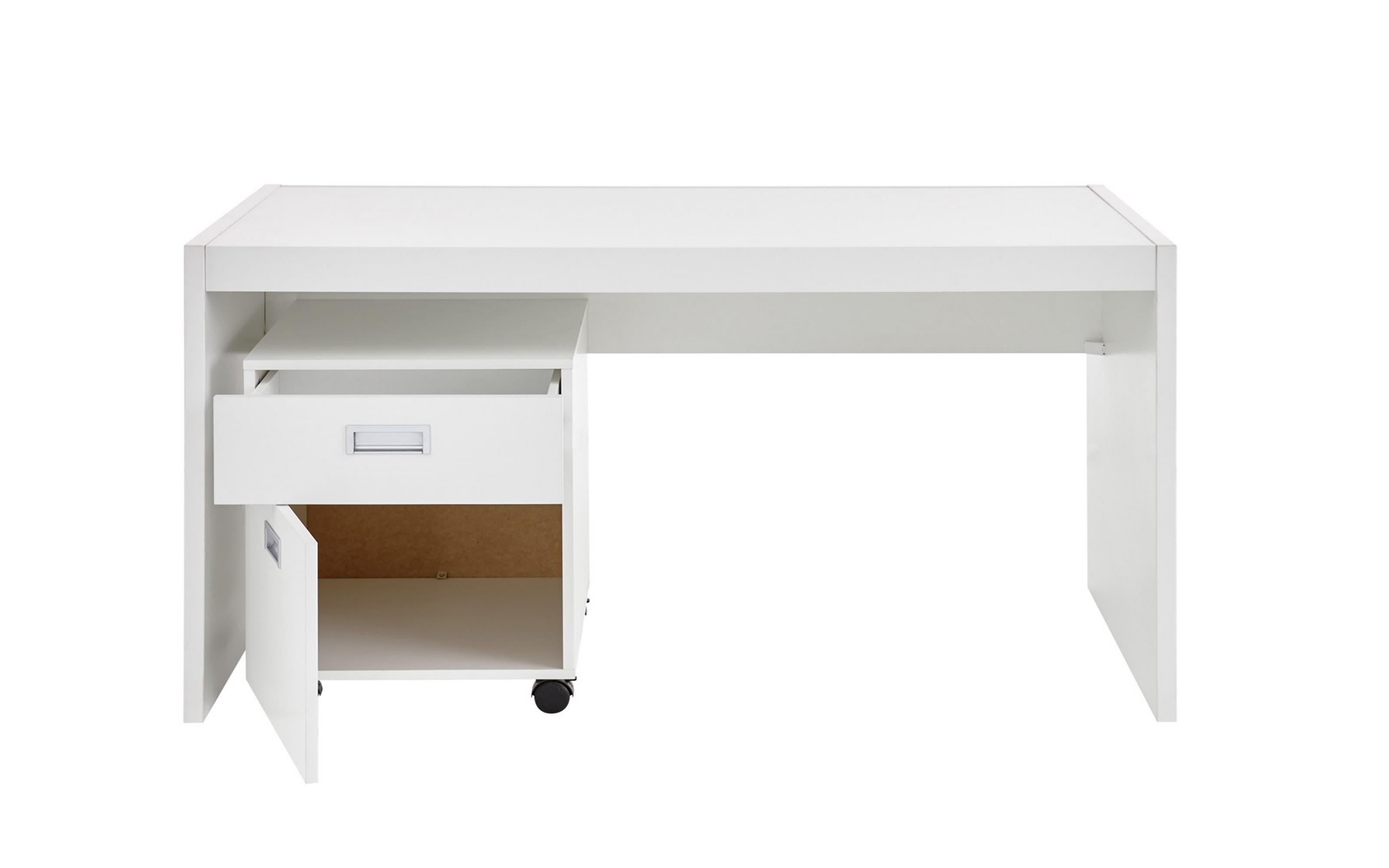 Schreibtisch Alaska in weiß