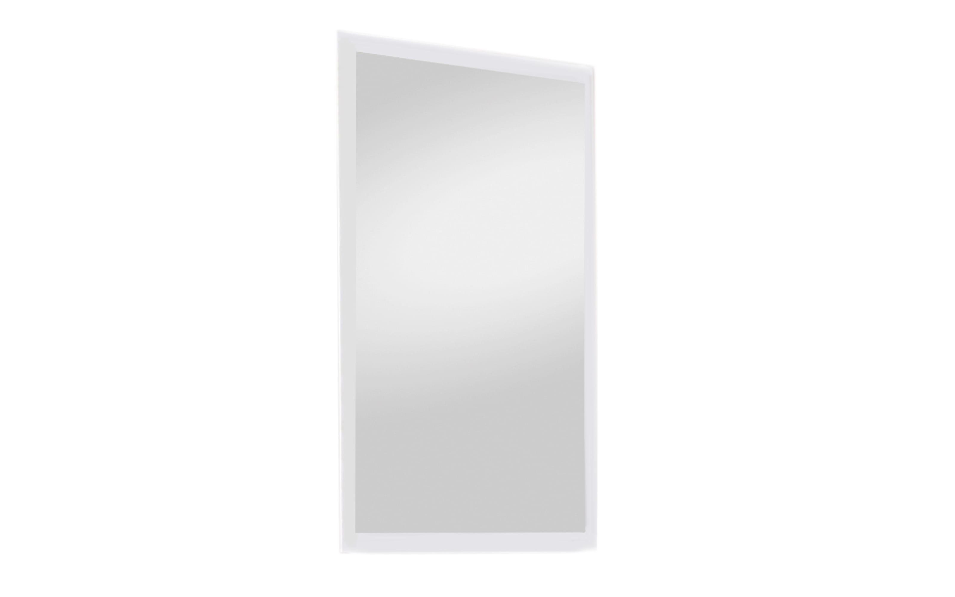 Spiegel Roubaix II in weiß, 60 x 100 cm