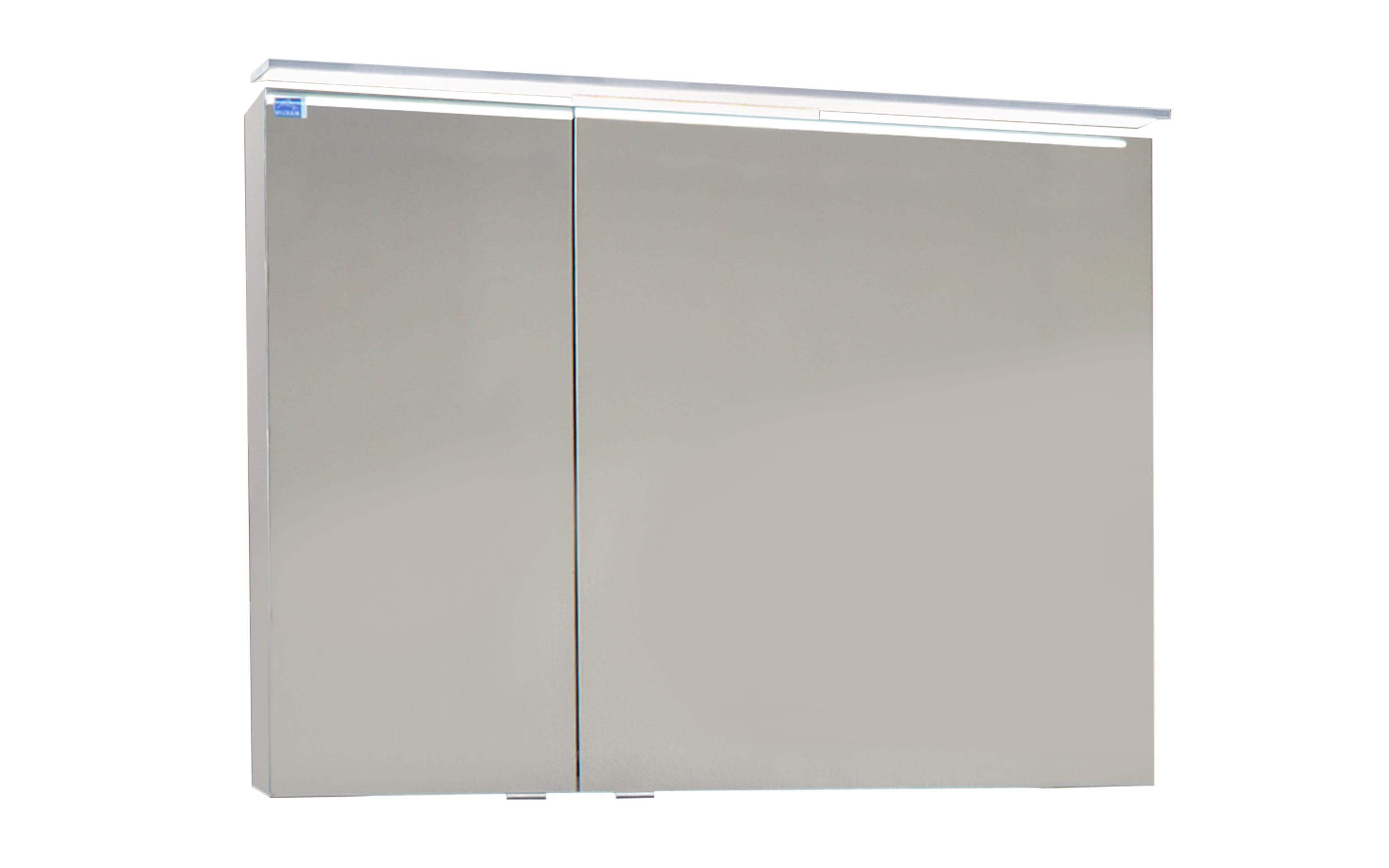 Spiegelschrank 3160 in weiß Glanz