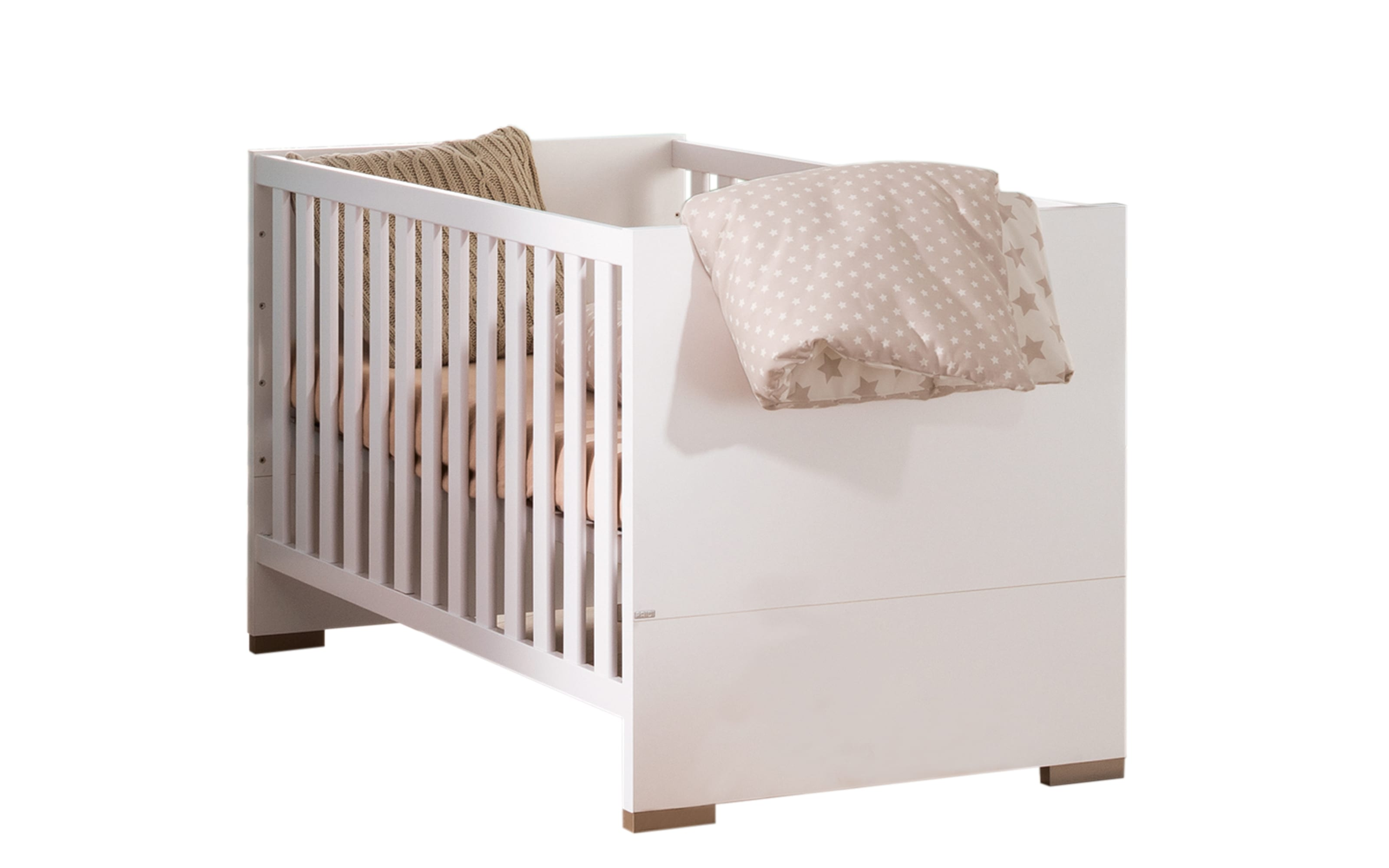Kinderbett Carlo in kreideweiß