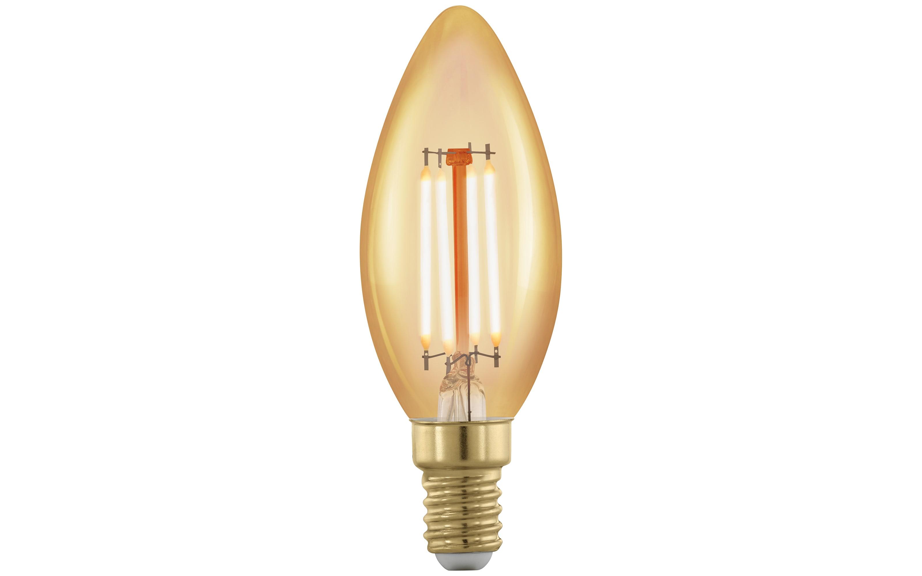 LED-Filament Golden Age Kerze 4W / E14, 9,8 cm