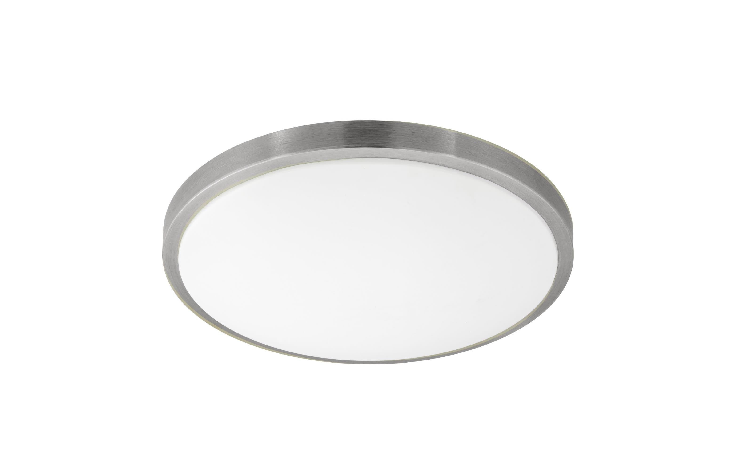 LED-Deckenleuchte Competa 1 in nickel matt, 43 cm