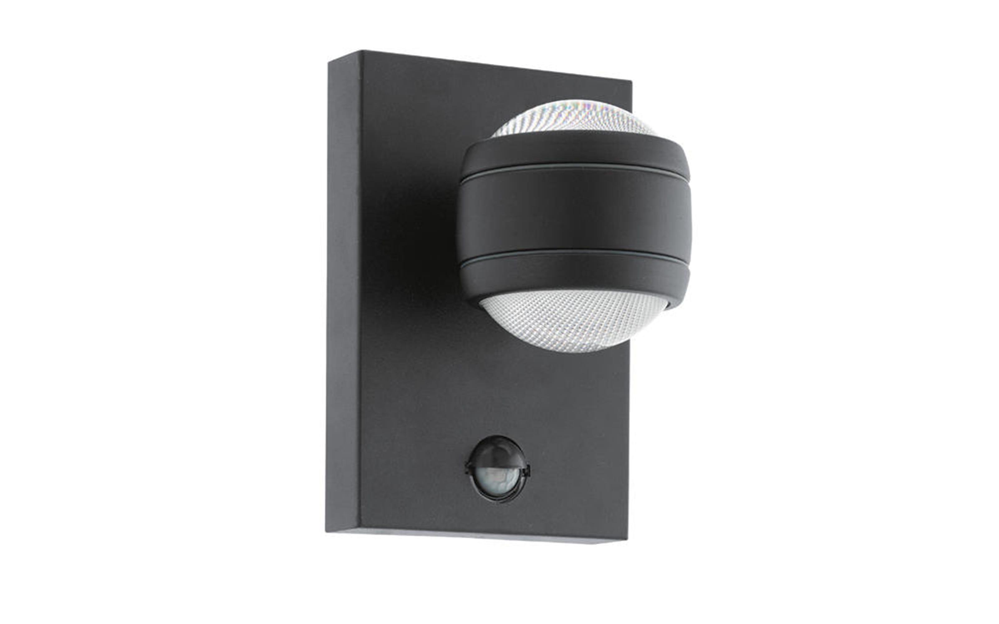 LED-Außenwandleuchte Sesimba 1 in schwarz