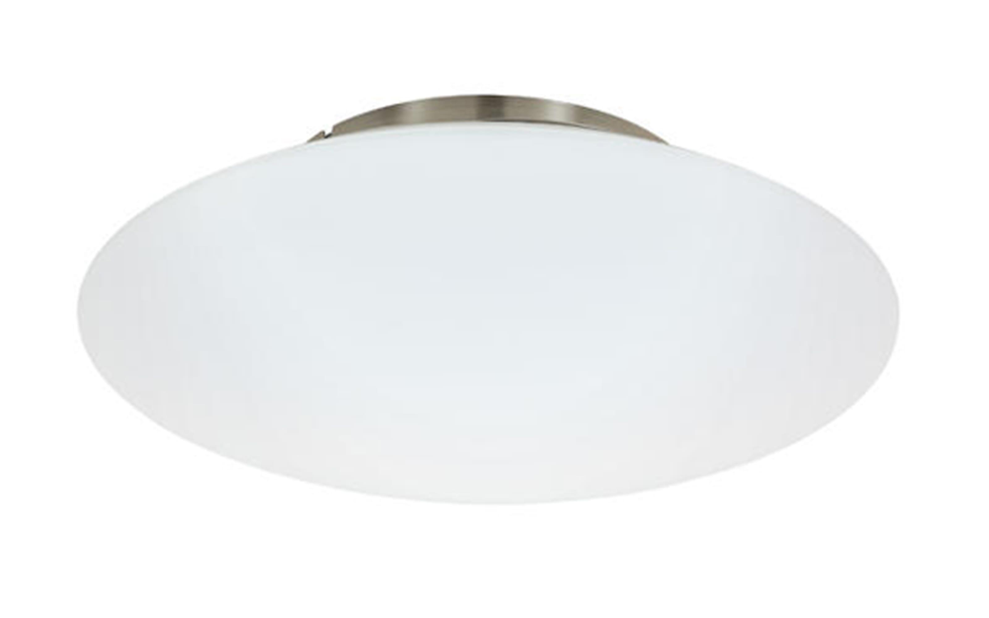 LED-Deckenleuchte Frattina-C in nickel matt