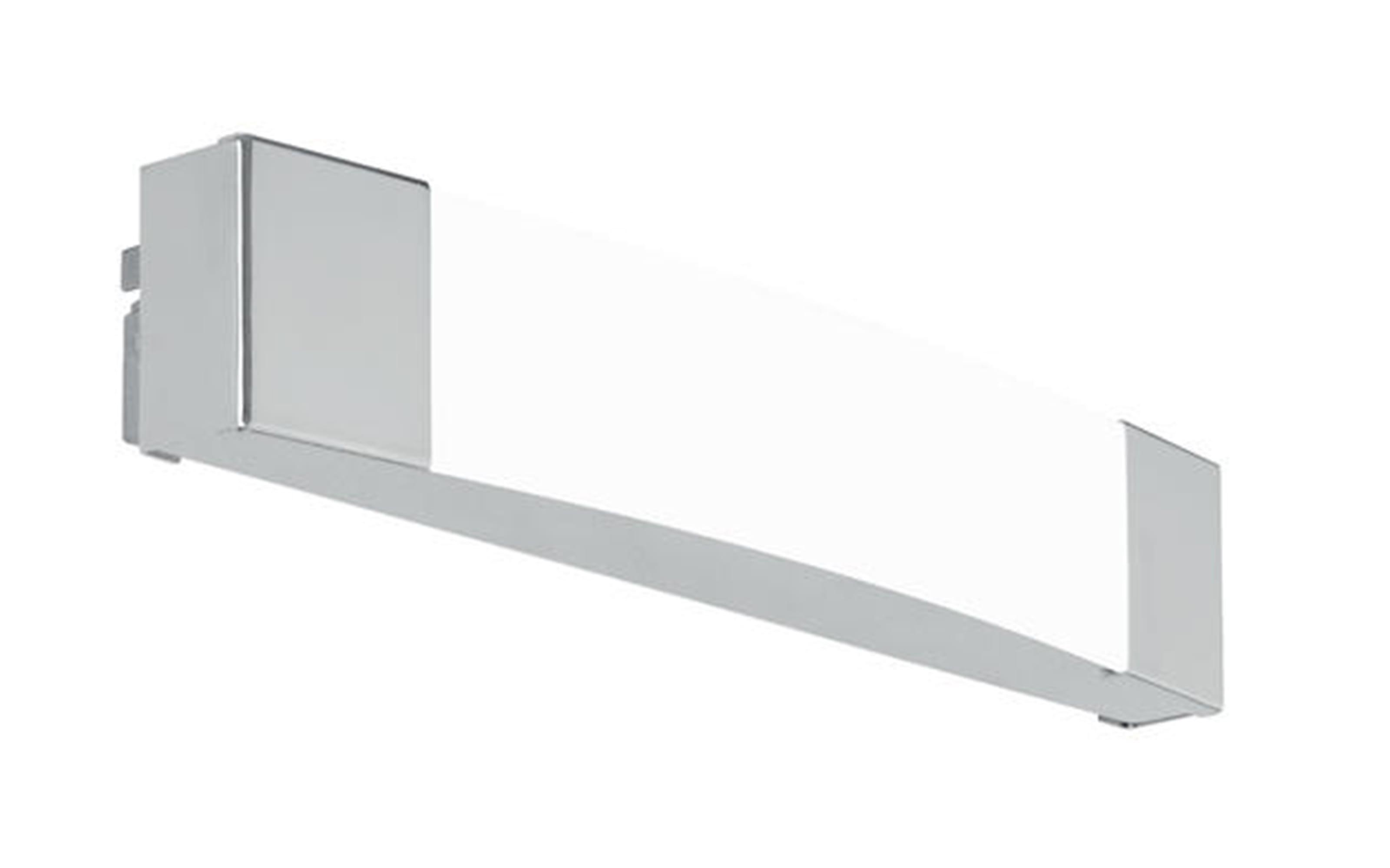 LED-Spiegelleuchte Siderno in chromfarbig, 35 cm