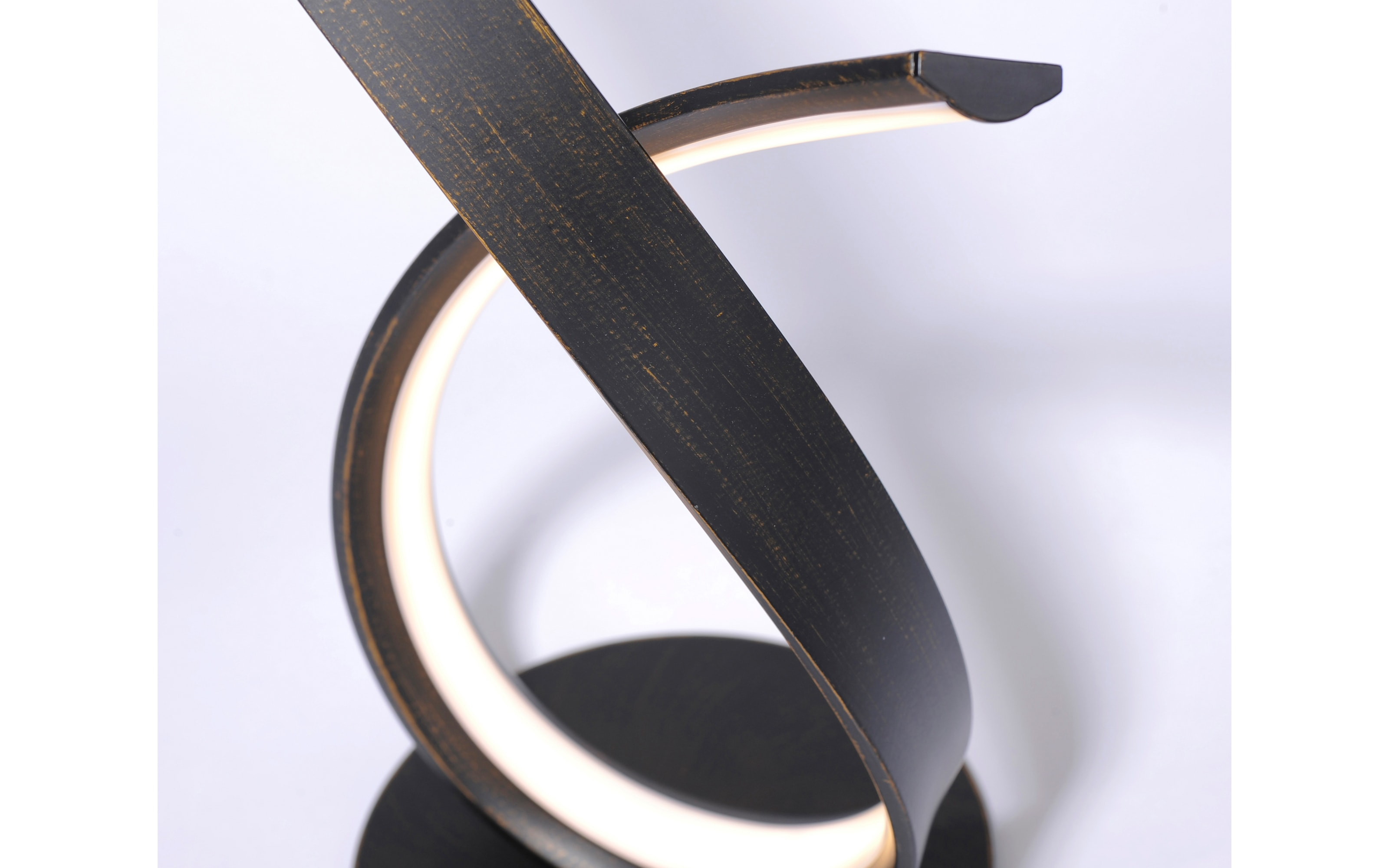 LED-Tischleuchte Linda in rostfarbig, 40 cm