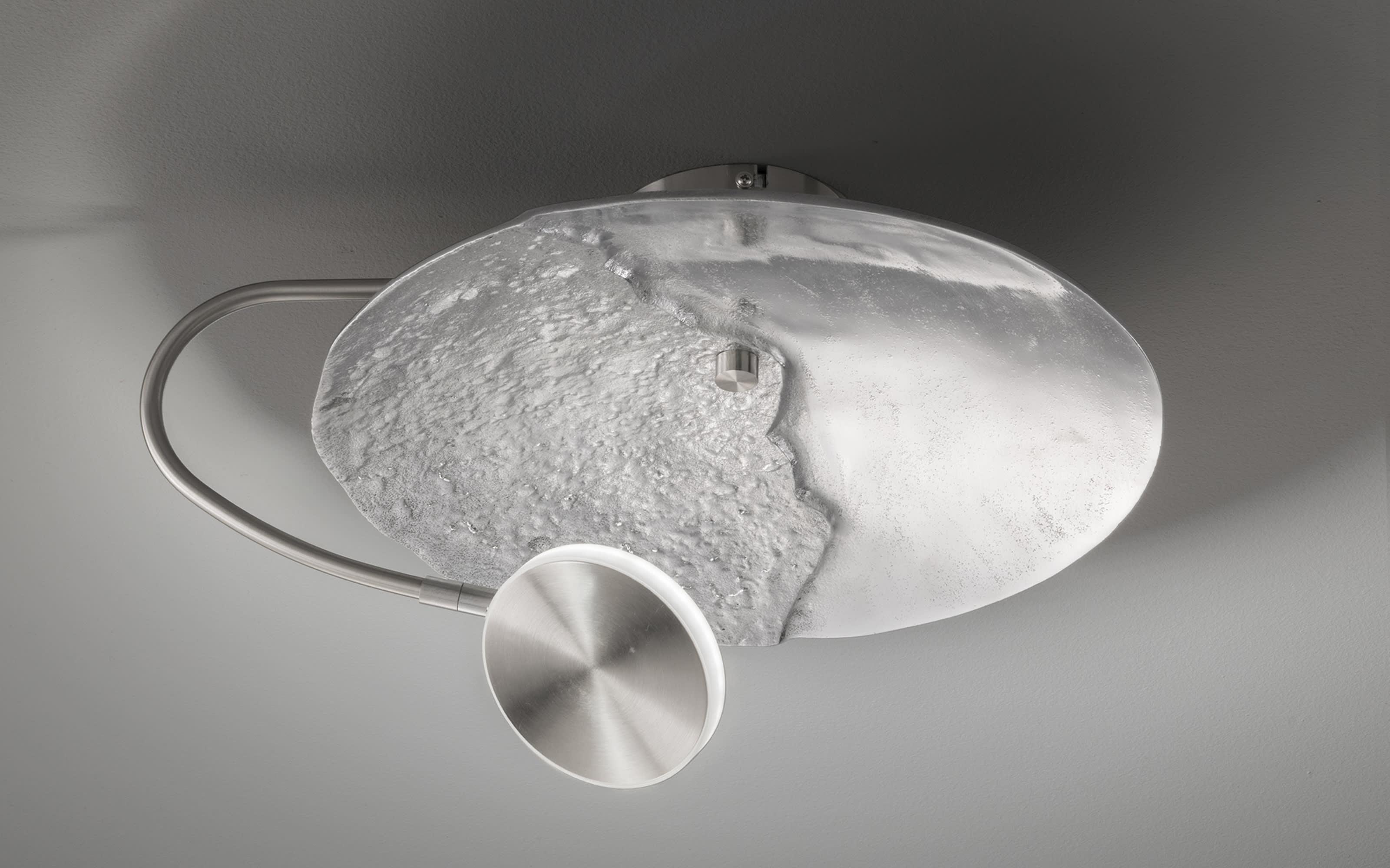 LED Deckenleuchte Rennes in nickel antik