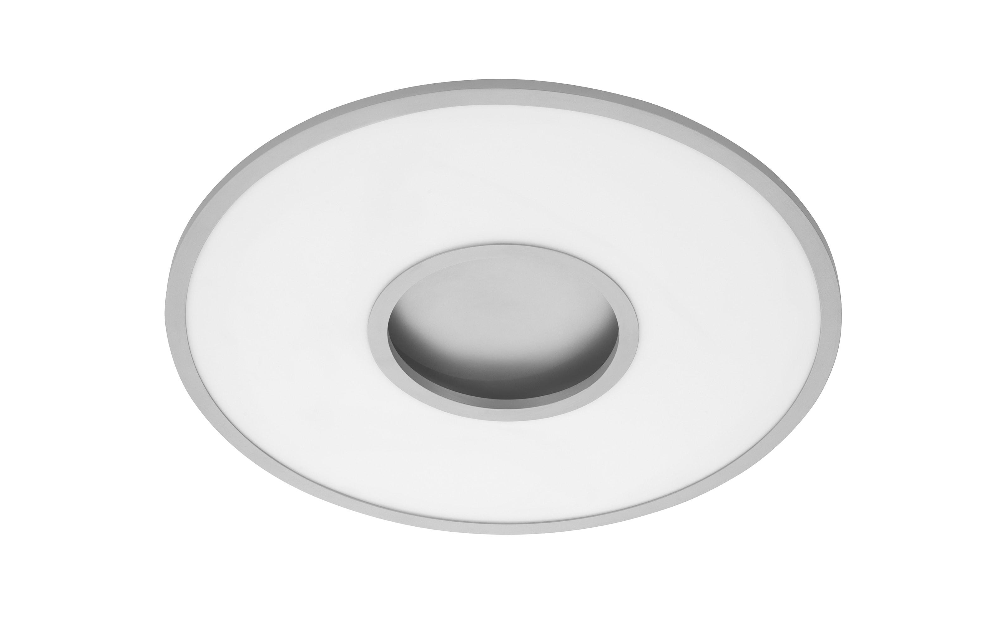 LED-Deckenleuchte Deco in chromfarbig matt, 60 cm