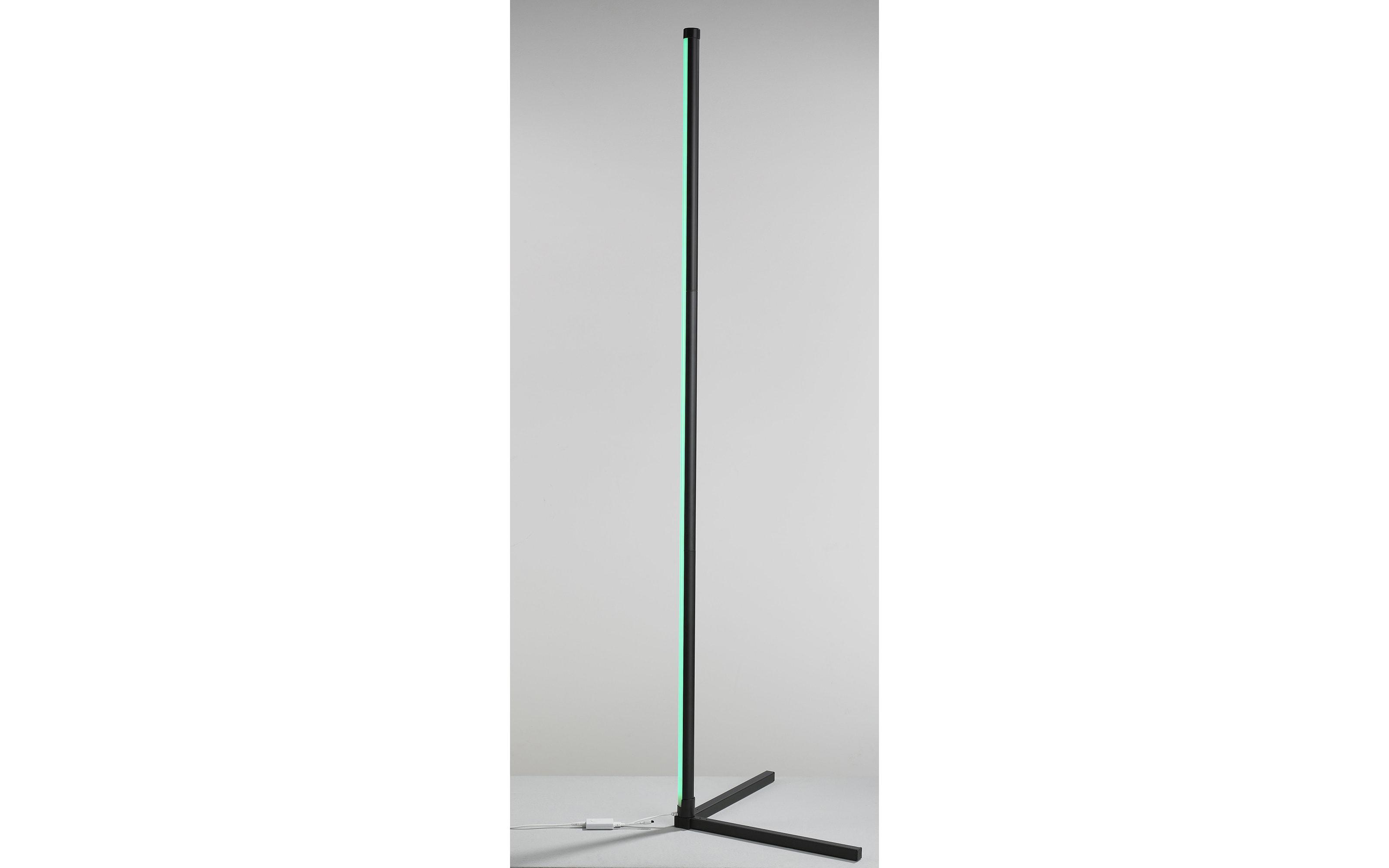LED-Standleuchte Polly in schwarz, 156 cm
