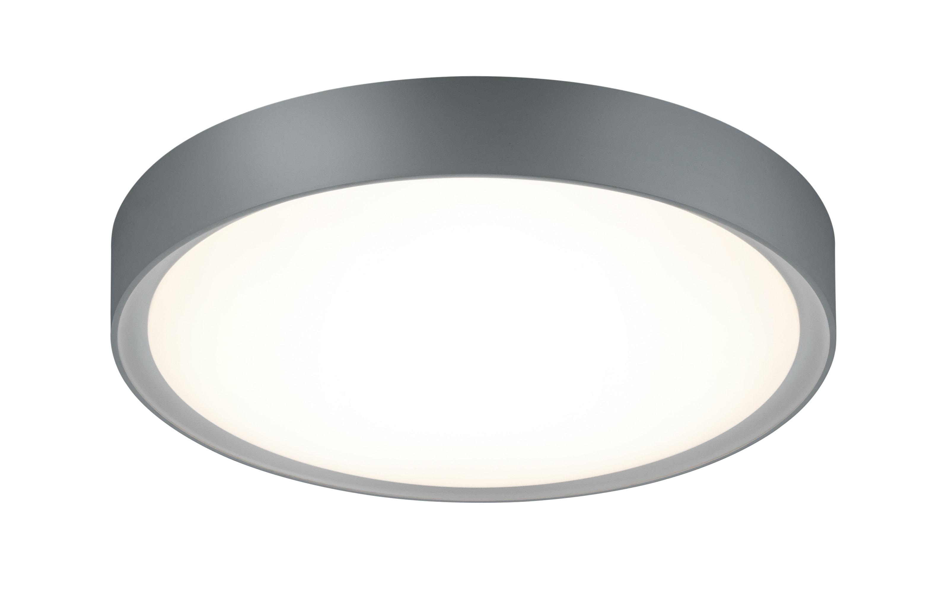 LED-Deckenleuchte Clarimo in titanfarbig, 33 cm