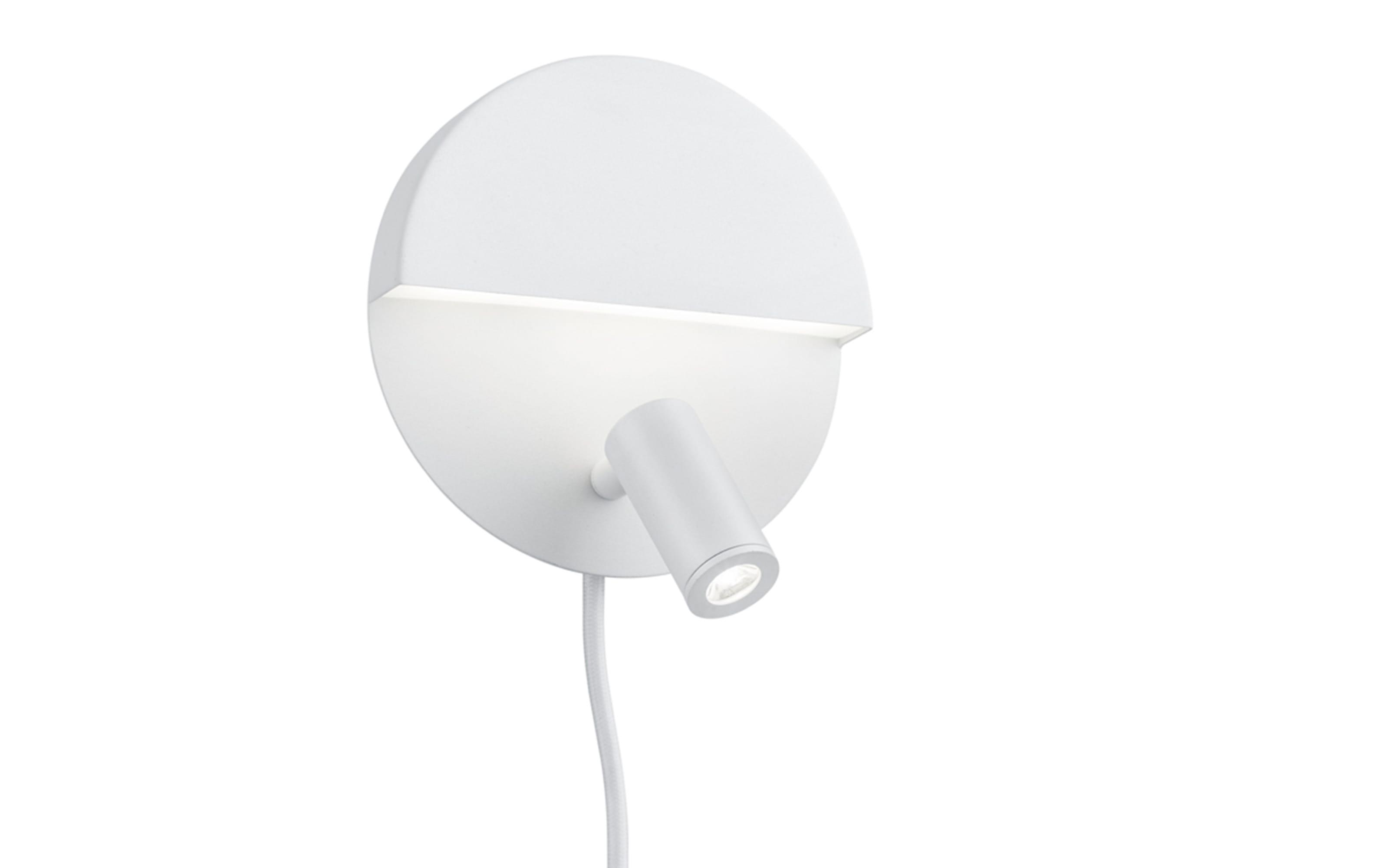 LED-Wandleuchte Mario in weiß